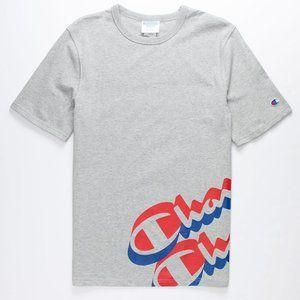 Champion Panel Script Logo Tee Graphic T-Shirt
